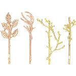 Capelli New York Gold Hair Bobby Pins Combo
