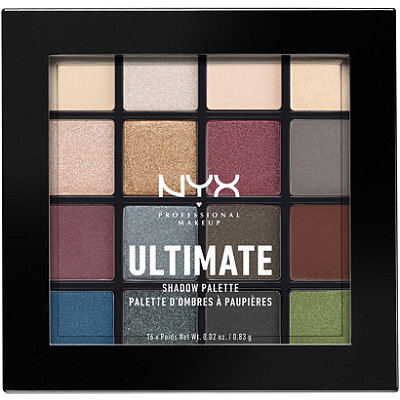 NYX Professional MakeupSmokey & Highlight Ultimate Shadow Palette