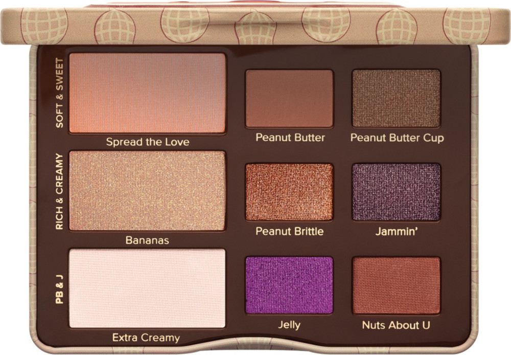 1e9c2c25bb40b Too Faced Peanut Butter   Jelly Eyeshadow Palette