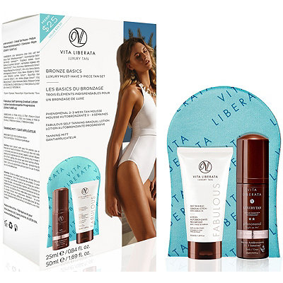 Vita Liberata Bronze Basics - Must-Have Luxury 3-Piece Tan Set