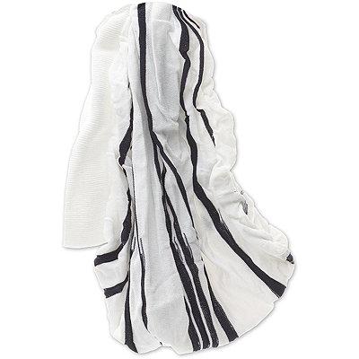 ElleWide White %26 Navy Stripe Head Wrap