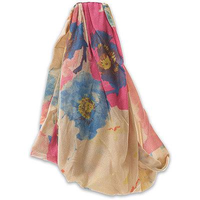 ElleWide Neutral Floral Head Wrap