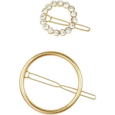 ElleGold Circle Ring Barrette