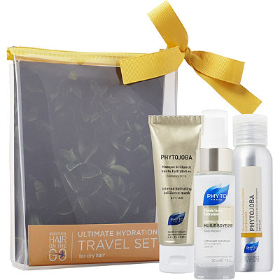 PhytoOnline Only Beautiful Hair On The Go Ultimate Hydration Travel Set For Dry Hair