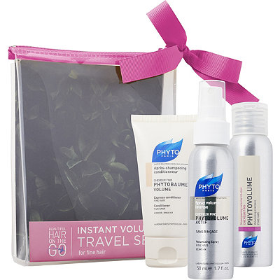 Phyto Online Only Beautiful Hair On The Go Instant Volume Travel Set For Fine Hair