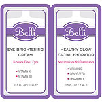 Online Only FREE Healthy Glow Facial Hydrator & Eye Brightening Cream sample w/any Belli purchase
