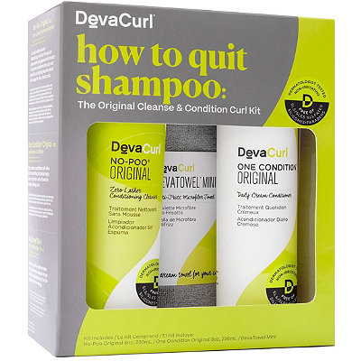DevaCurlHow To Quit Shampoo: The Original Cleanse & Condition Curl Kit