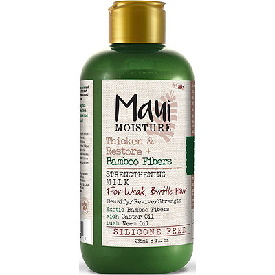 Maui MoistureThicken %26 Restore Bamboo Fibers Strengthening Milk