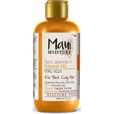 Maui MoistureCurl Quench + Coconut Oil Curl Milk