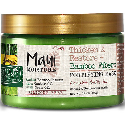 Maui Moisture Thicken %26 Restore Bamboo Fibers Fortifying Mask