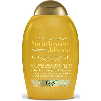OGX Sunflower Shimmering Blonde Conditioner