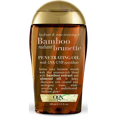 OGXBamboo Radiant Brunette Penetrating Oil