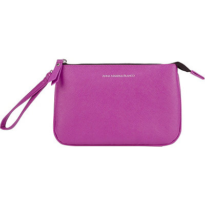 Anna Martina Franco Lovely Luxury Top-zip Wristlet