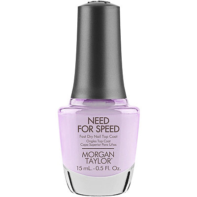 Morgan Taylor Need For Speed Top Coat