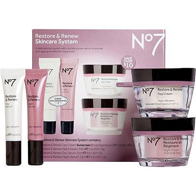 No7Restore %26 Renew Skin System
