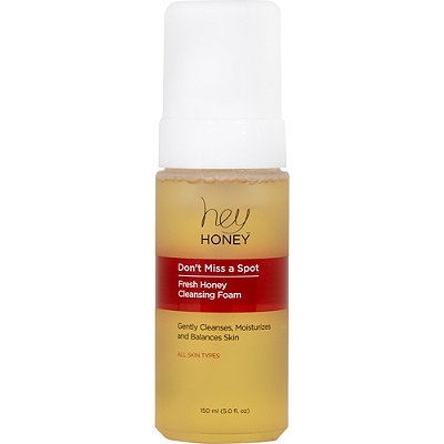 Hey Honey Online Only Don%27t Miss A Spot Fresh Honey Cleansing Foam