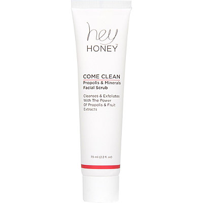 Hey Honey Online Only Come Clean Propolis %26 Minerals Facial Scrub