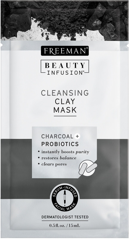 Freeman Beauty Infusion Charcoal + Probiotics Cleansing Clay Facial Mask, 0.5 fl oz Clinique All About Eyes Rich 15ml/0.5oz