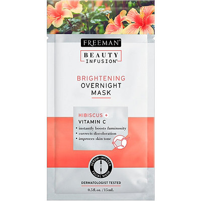 Beauty Infusion Travel Size Brightening Overnight Mask with Hibiscus %2B Vitamin C