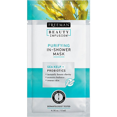Beauty Infusion Travel Size Purifying In-Shower Mask with Sea Kelp %2B Probiotics