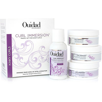 OuidadCurl Immersion Trial Set for Kinky Curls