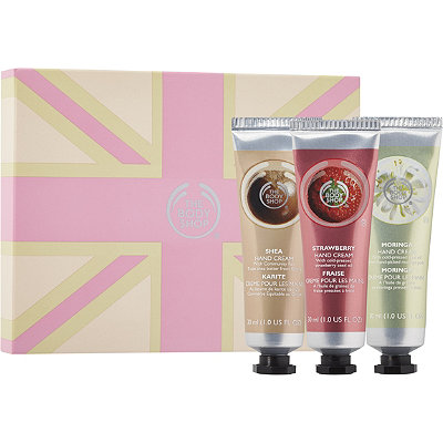 The Body ShopOnline Only Hand Cream Trio Gift Set