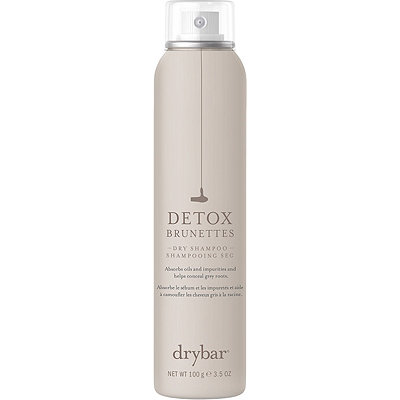 Detox Dry Shampoo For Brunettes