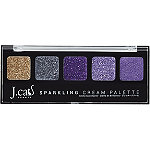 Online Only Sparkling Cream Eyeshadow Palette