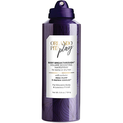 Orlando Pita PlayBody Breakthrough Volume Boosting Hairspray