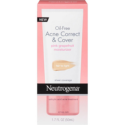 Neutrogena Oil Free Acne Correct %26 Cover