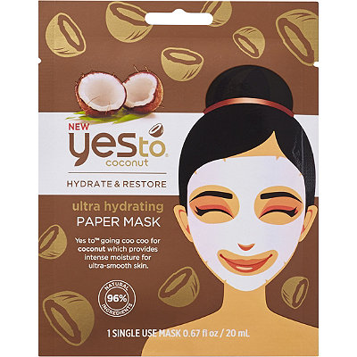 Yes to Coconut  Hydrate %26 Restore Ultra Hydrating Sheet Mask