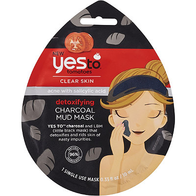 Yes toTomatoes Clear Skin Detoxifying Charcoal Mud Mask