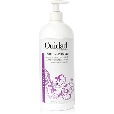 Ouidad Curl Immersion Coconut Cleansing Conditioner-Low Lather