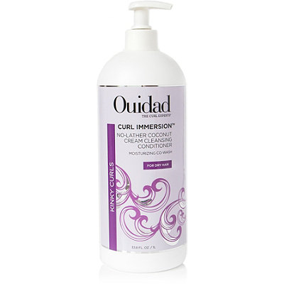 Ouidad Curl Immersion Coconut Cleansing Cream Conditioner-No Lather