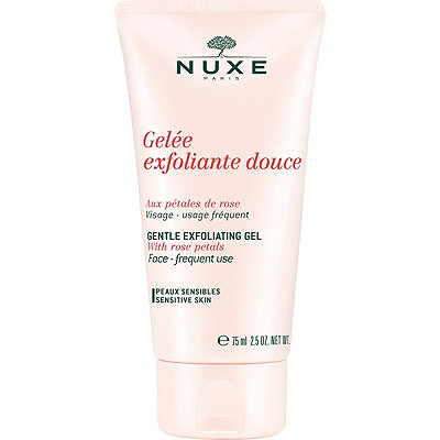 Nuxe Online Only Gentle Exfoliating Gel with Rose Petals