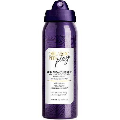 Orlando Pita PlayTravel Size Body Breakthrough Volume Boosting Hairspray