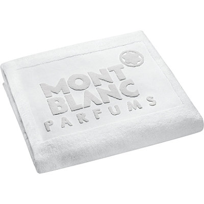 Montblanc Online Only FREE Beach Towel w%2F any large spray Montblanc Fragrance Collection purchase