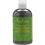 African Water Mint %26 Ginger Detox %26 Refresh Hair %26 Scalp Gentle Shampoo