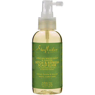 SheaMoisture African Water Mint %26 Ginger Detox %26 Refresh Scalp Elixir