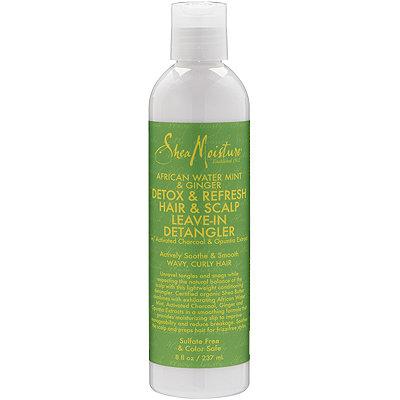 SheaMoistureAfrican Water Mint %26 Ginger Detox %26 Refresh Hair %26 Scalp Leave-In Detangler