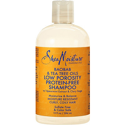 SheaMoisture Baobab %26 Tea Tree Oils Low Porosity Protein-Free Shampoo