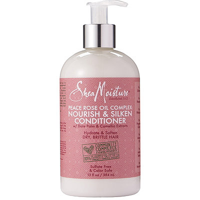 SheaMoisture Peace Rose Oil Complex Nourish %26 Silken Conditioner