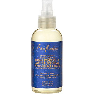 SheaMoisture Mongongo %26 Hemp Seed Oils High Porosity Moisture-Seal Finishing Elixir