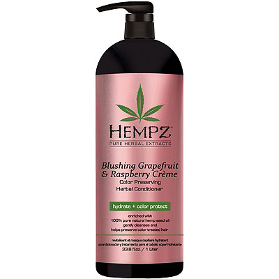 Hempz Blushing Grapefruit %26 Raspberry Cr%C3%A8me Color Protector Conditioner