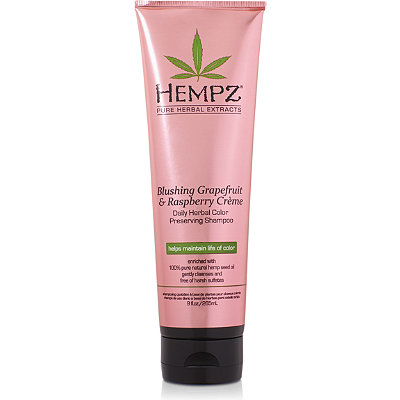 Hempz Online Only Blushing Grapefruit %26 Raspberry Cr%C3%A8me Color Protector Shampoo