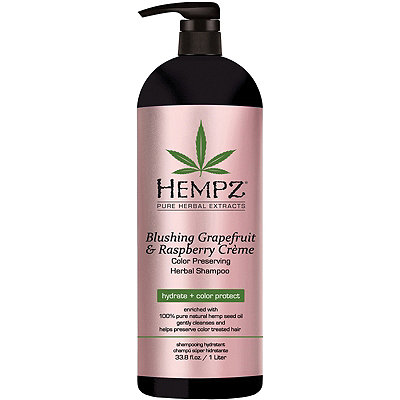 HempzOnline Only Blushing Grapefruit & Raspberry Crème Color Protector Shampoo