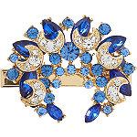 Blue Gem Broach Salon Clip