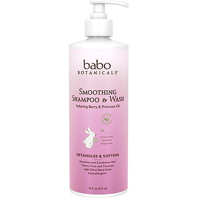 Babo Botanicals Online Only Smoothing Shampoo %26 Wash