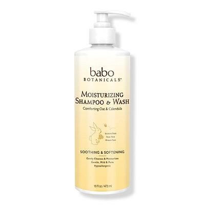Babo BotanicalsOnline Only Moisturizing Baby Shampoo %26 Wash