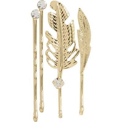 ElleBobby Pins Gold